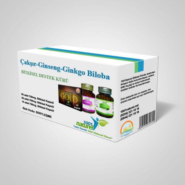 Çakşır - Ginseng - Ginkgo Biloba Kürü